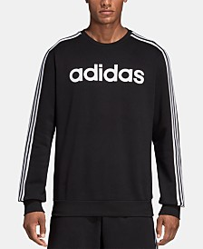 adidas Men's Essentials Fleece Logo Sweatshirt
