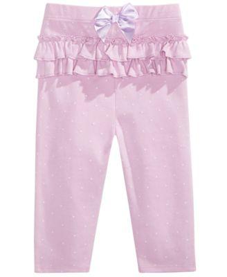 Baby Girl Pindot Leggings, Created for Macy's