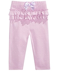 Baby Girl Pindot Leggings, Created for Macy's