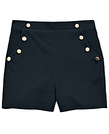 Big Girls Buttons Shorts