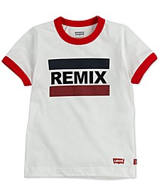 DADDY & ME COLLECTION Little Boys Remix Graphic Cotton T-Shirt
