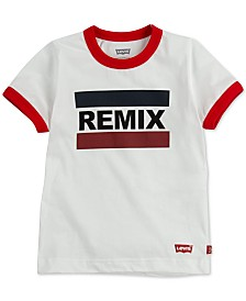 Levi's® DADDY & ME COLLECTION Little Boys Remix Graphic Cotton T-Shirt