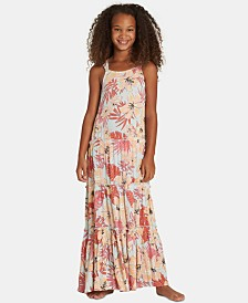 Billabong Big Girls Floral-Print Maxi Dress