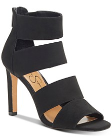 Jessica Simpson Cerina Strappy Stiletto Heel Sandals