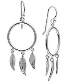 Giani Bernini Dream Catcher Drop Earrings in Sterling Silver, Created for Macy's