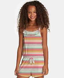 Billabong Big Girls Only One Striped Romper