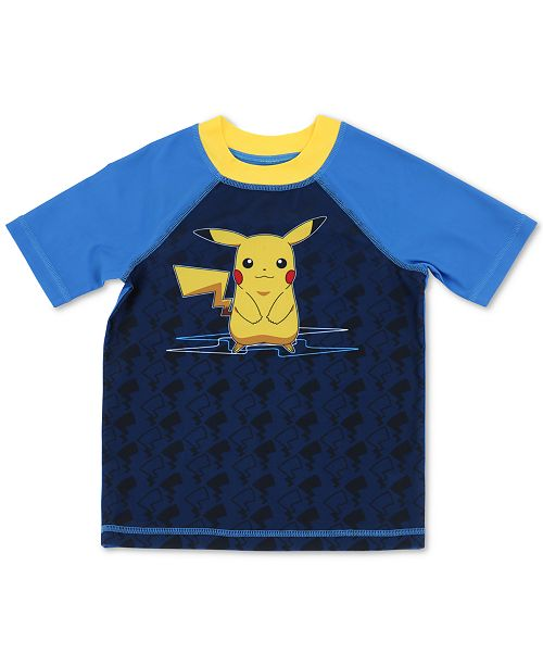 Dreamwave Little Boys Pokémon Rash Guard