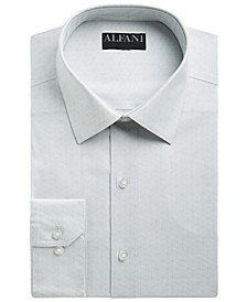 Alfani Men's Slim-Fit Performance Stretch Striped Box Dress Shirt, Created for Macy's
