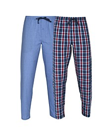 Hanes Men's Woven Sleep Pant, 2 Pack