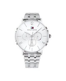 Tommy Hilfiger Womens Stainless Steel Bracelet Watch 40mm, Created for Macy's