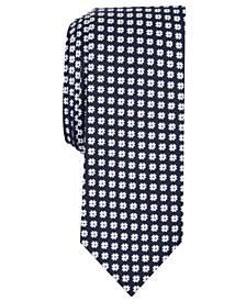 Men's Lomet Floral Skinny Tie