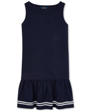 1920s Children Fashions: Girls, Boys, Baby Costumes Polo Ralph Lauren Big Girls Ponte Sailor Dress $29.70 AT vintagedancer.com