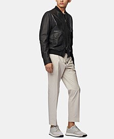 BOSS Men's Banks-SPW Slim-Fit Drawstring Trousers