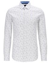 fa0ca535 Hugo Boss Mens Casual Button Down Shirts & Sports Shirts - Macy's