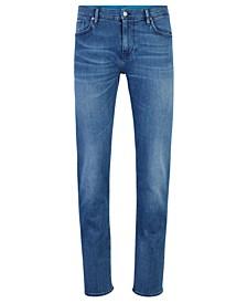 BOSS Men's Charleston3 Extra-Slim-Fit Eco-Friendly Italian Denim Jeans