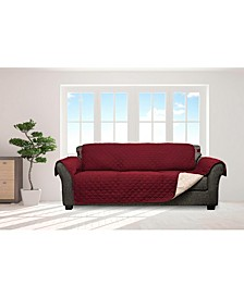 "Jameson 114"" x 75"" Reversible Water Resistant Sofa Cover"