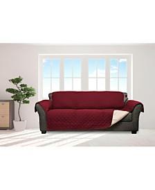 "Jameson 114"" x 75"" Reversible Water Resistant Sofa Cover"