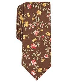 Men's Rosedale Floral Skinny Tie