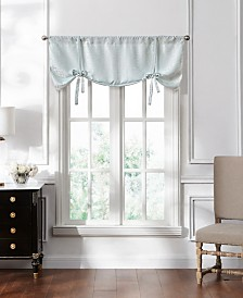 "Lucida Spa Lace Tie-Up Valance, 50"" x 18"""