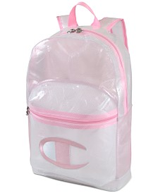 Champion Big Girls Supersize Logo Backpack