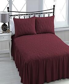Samantha 3-pc Queen Bedspread