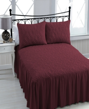 Samantha 3-pc Queen Bedspread