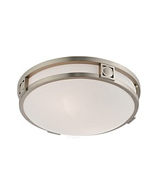 CLOSEOUT!   Titania 2-Light Ceiling Mount