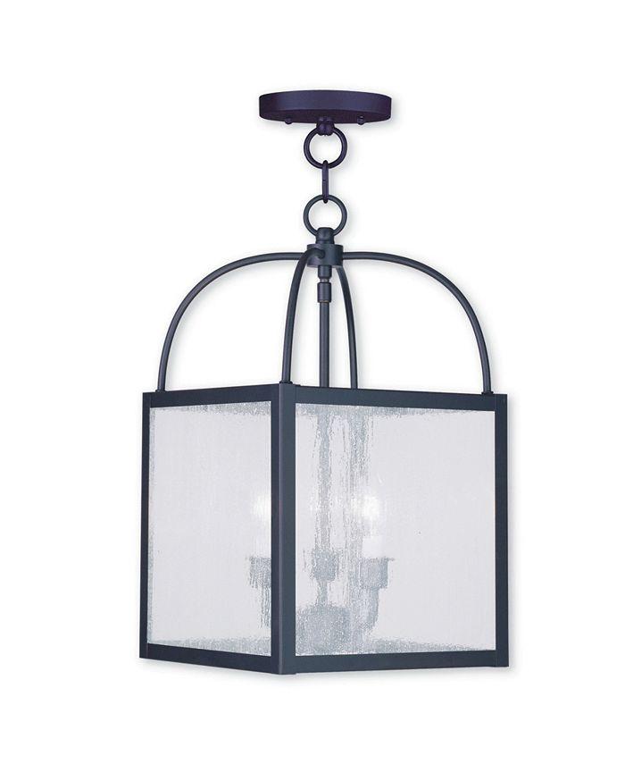 Livex - Milford 3-Light Convertible Mini Pendant/Ceiling Mount