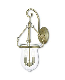 CLOSEOUT! Livex   Canterbury 2-Light Wall Sconce