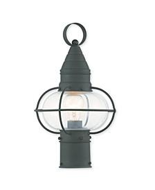 "CLOSEOUT!   Newburyport 1-Light 15"" Post Lantern"