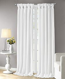 Emilia Window Panel White 84""