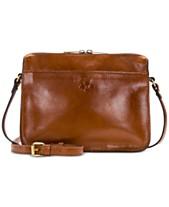 657ba9d3c81e2 Patricia Nash Nazaire Heritage Leather Crossbody