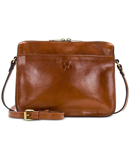 Patricia Nash Nazaire Heritage Leather Crossbody