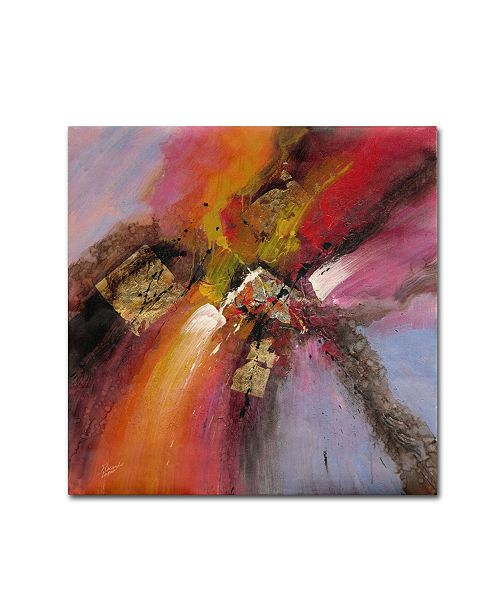 "Trademark Global Ricardo Tapia 'Sunset' Canvas Art - 14"" x 14"""