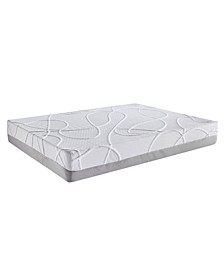 Green Tea and Bamboo Charcoal Infused Eastern King Memory Foam Mattress