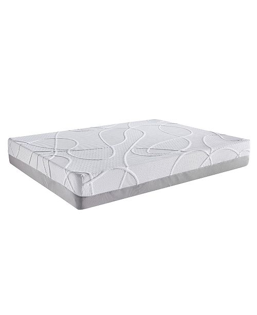 Ac Pacific Green Tea and Bamboo Charcoal Infused Eastern King Memory Foam Mattress