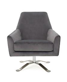 Ailis Swivel Chair, Quick Ship