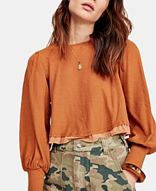 Billie Cropped Contrast T-Shirt