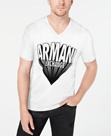 A X Armani Exchange Men's Dramatic Logo T-Shirt