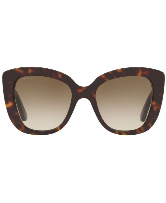 Gucci Sunglasses, GG0327S 52 & Reviews - Sunglasses by Sunglass Hut - Handbags & Accessories - Macy's