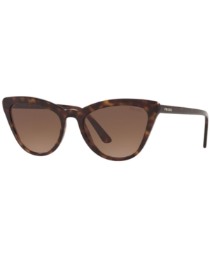 Prada Sunglasses, Pr 01Vs 56 In Havana/Brown Gradient