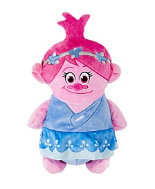 Cubcoats Toddler and Big Girls DreamWorks Poppy The Troll 2-in-1 Stuffed Animal Hoodie