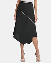 26189e2ca7 DKNY Asymmetrical Midi Skirt