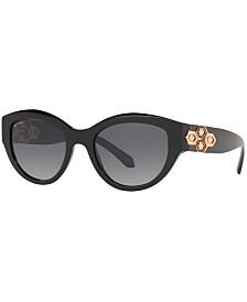 BVLGARI Polarized Sunglasses, BV8221B 53