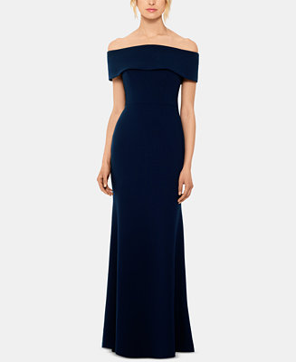 Petite Off The Shoulder Gown by General