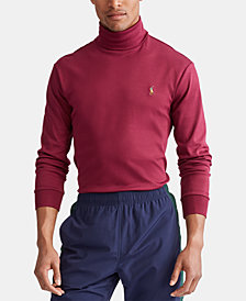 Polo Ralph Lauren Men's Soft Touch Knit Turtleneck Shirt