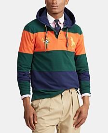 폴로 랄프로렌 Polo Ralph Lauren Mens Basic Mesh Knit Hoodie,College Green Multi