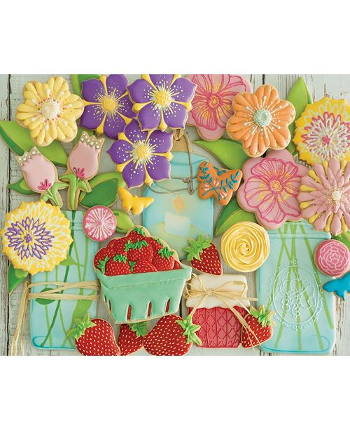 Springbok Puzzles Spring Cookies 2000 Piece Jigsaw Puzzle