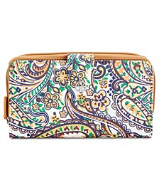 Saffiano Paisley All In One Wallet, Created for Macy's