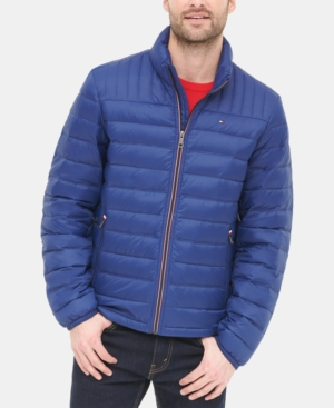 Tommy Hilfiger Men's Down Quilted Packable Puffer Jacket